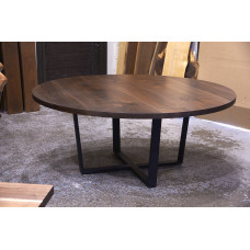 Round Custom Table Top Builder with Base Options