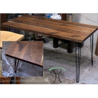 Custom Hairpin Table Legs - Steel and Stainless set of Four